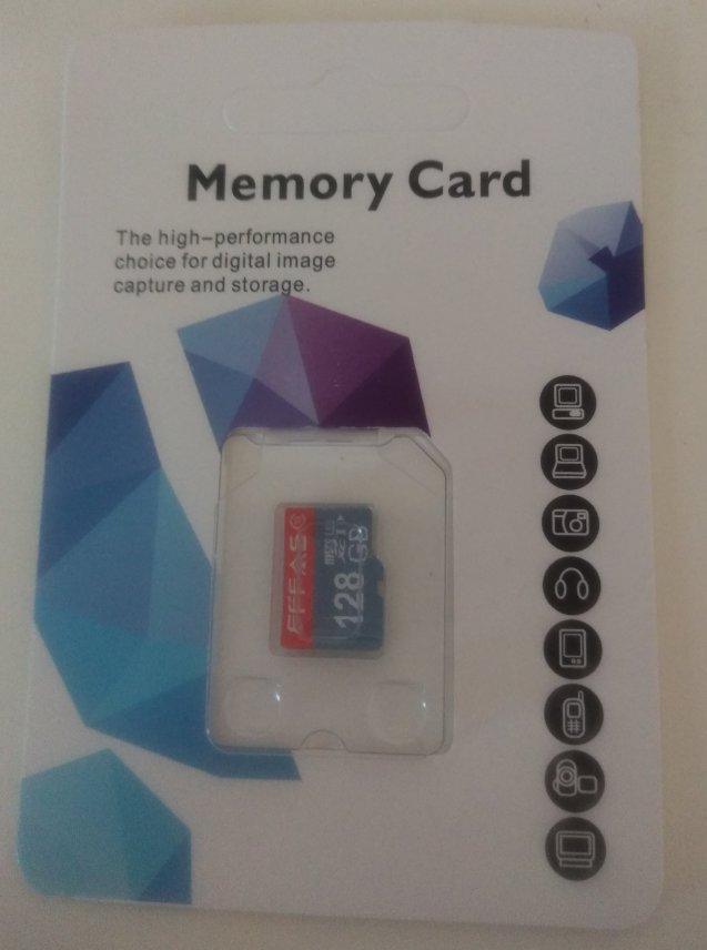 中国からSDカードが届いたよ!