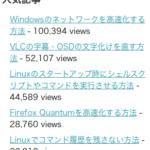 ありがとう!!人気トップ記事10万PV突破